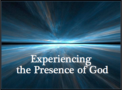 The presence of God is in the small every day things